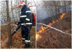 14 incendii stinse de pompierii arădeni în weekendul trecut