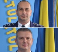 Șimon Adrian și Jurcă Nicolae sunt noii adjuncți ai IPJ Arad