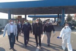 Ministrul de Interne, din nou în vizită la PTF Nădlac I, în duminica Floriilor