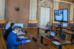 O nouă ședință CLM de îndată ţinută online: 1.100.000 lei bani pentru serviciile de carantinare