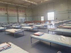 Spitalul de campanie amenajat la Expo Arad preluat joi de Spitalul Județean Arad !