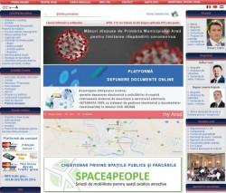 Primăria Arad a lansat Ghișeul Online