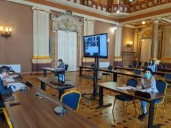 Încă o şedinţă de CLM desfăşurată online