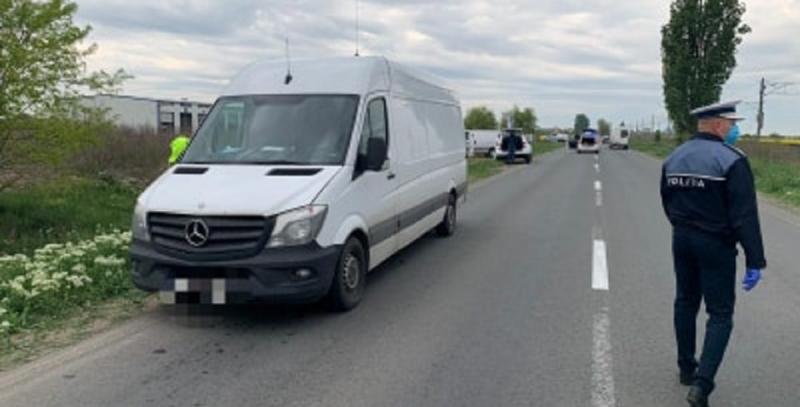 Un biciclist a fost accidentat MORTAL pe drumul Arad-Șofronea