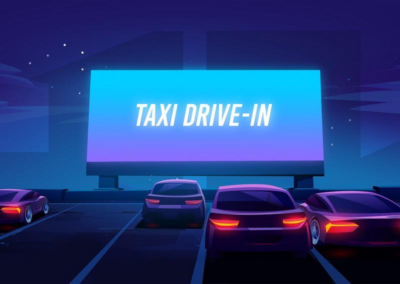 Se întâmplă în Arad: Taxi Drive-In în grădina de vară a cinema Arta