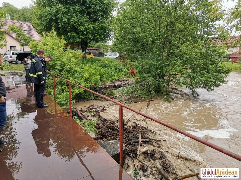 Alertă Meteo: Cod portocaliu de inundații pentru toată țara !