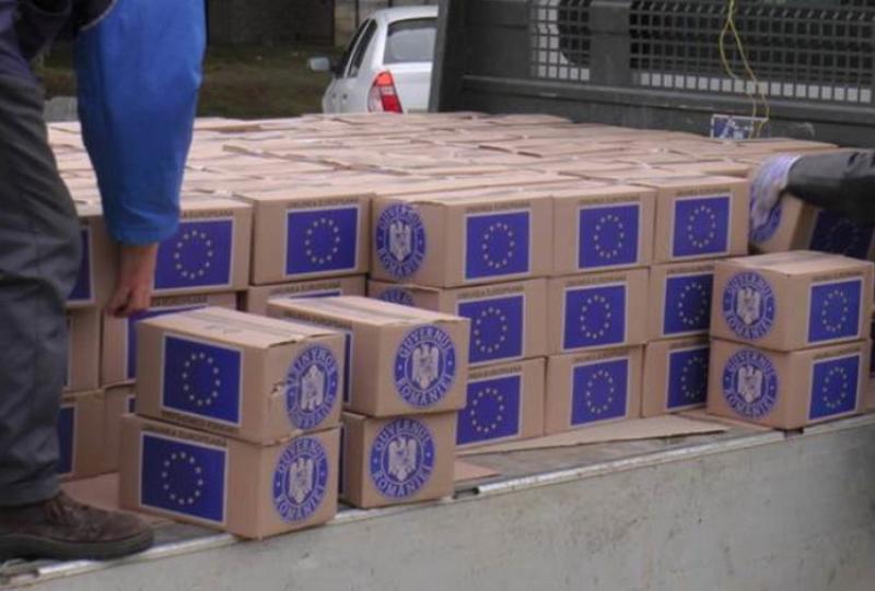 Începe distribuirea lotului II de produse de igienă de la U.E.