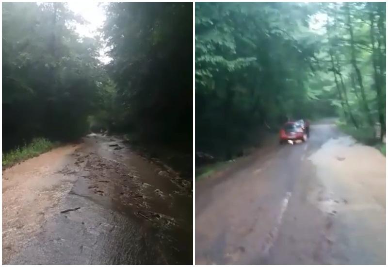 Traficul feroviar este oprit între Brad și Hălmagiu din cauza inundațiilor