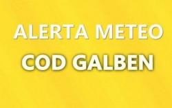 Aradul sub COD Galben: grindină,  descărcări electrice, averse de ploaie, intensificări ale vântului