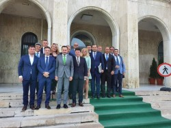 """Gheorghe Falcă: """"Am prezentat Guvernului Orban proiectele Aradului"""""""