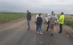 Cionca: Am dispus astăzi remedierea unor nereguli constatate pe drumul județean Pîncota-Târnova-Buteni!
