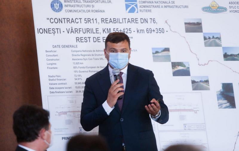 """Sergiu Bîlcea: ,,Cel mai important proiect de la înființarea Consiliului Județean Arad este Centura Aradului!"""""""