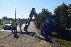 Se asfaltează intersecția Pâncota-Măderat!