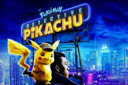 Pokémon Detectiv Pikachu, în grădina de vară de la cinematograful din Grădiște