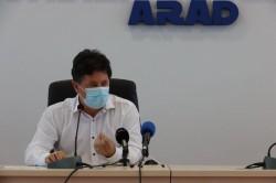 Aradul nu este pe harta naţională de infectări însă Sâmbăteniul poate ajunge – situaţia Covid 19 la zi în judeţ