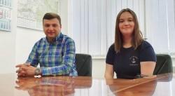 Absolventă de 10 la BAC în stagiu de practică la Consiliul Județean Arad