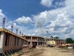Clădirea noului Spital de Psihiatrie de la Căpâlnaș prinde contur