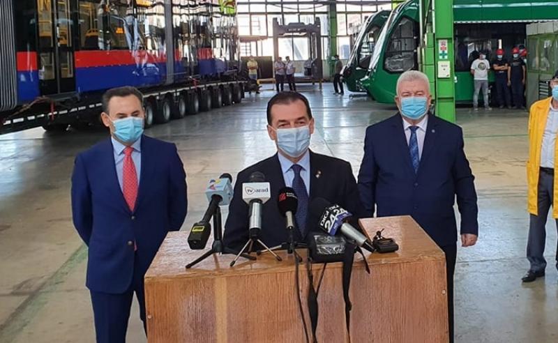 """Ludovic Orban la Arad: """"Am lansat, așa cum am promis, apelul de proiecte pentru înființarea de distribuții de gaz natural"""""""