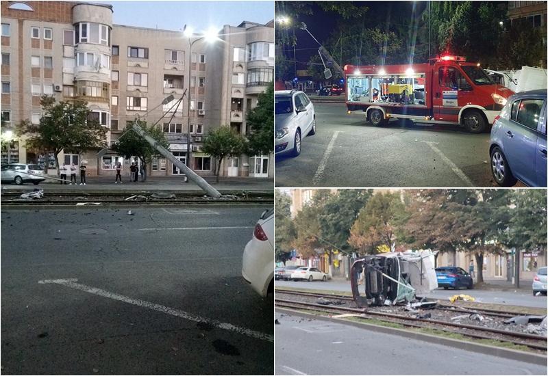 Accident mortal în zona gării din Arad duminică dimineaţa