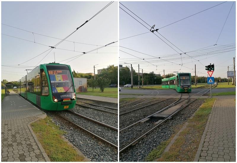 De astăzi, tramvaiele Imperio circulă și în cartierul Micălaca