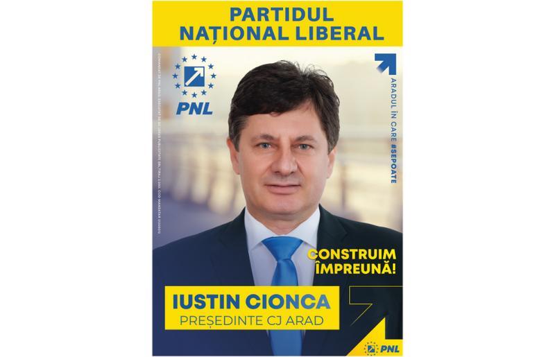 """(Advertorial) Iustin Cionca: """"PNL le prezintă arădenilor cea mai puternică echipă!"""""""