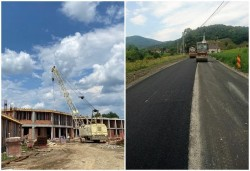 5,4 milioane de lei de la Guvern pentru drumul Bârsa-Moneasa și Spitalul din Căpâlnaș