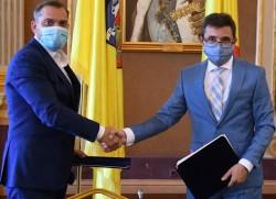 A fost semnat contractul pentru proiectarea noului pod peste Mureș