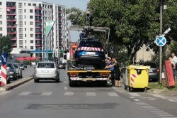 Imaginea Zilei: Or fi parcat în loc nepermis?