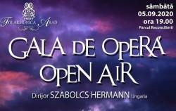 Gala de operă Open Air, sâmbătă, 5 septembrie