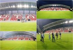 """LPF-ul a mai inspectat odată arena """"Francisc Neuman"""" înaintea meciului cu F.C. Voluntari"""