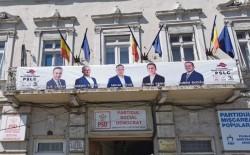 Fifor şi candidaţii PSD Arad încalcă legea electorală