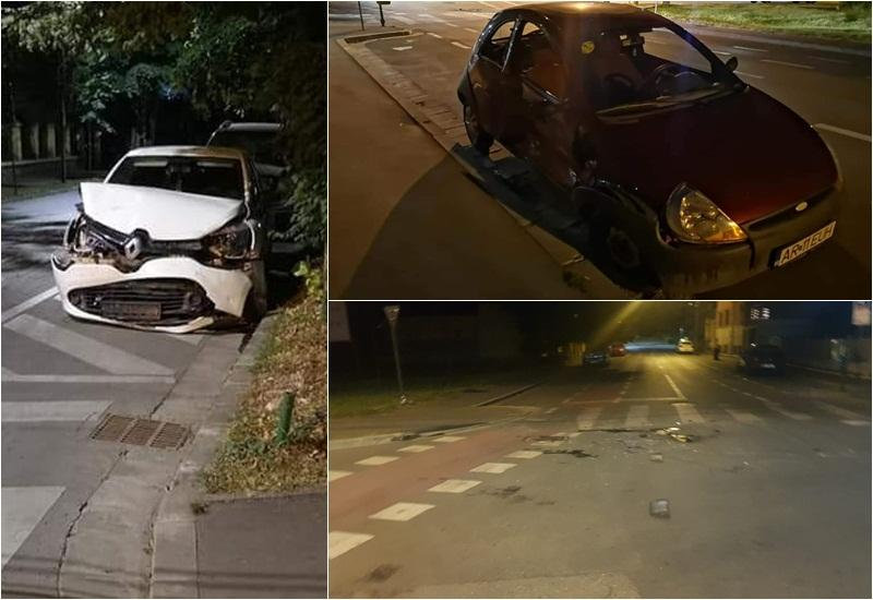 Accident luni noaptea, la intersecţia străzilor I.C. Brătianu cu Vasile Milea. Începători...trafic redus....