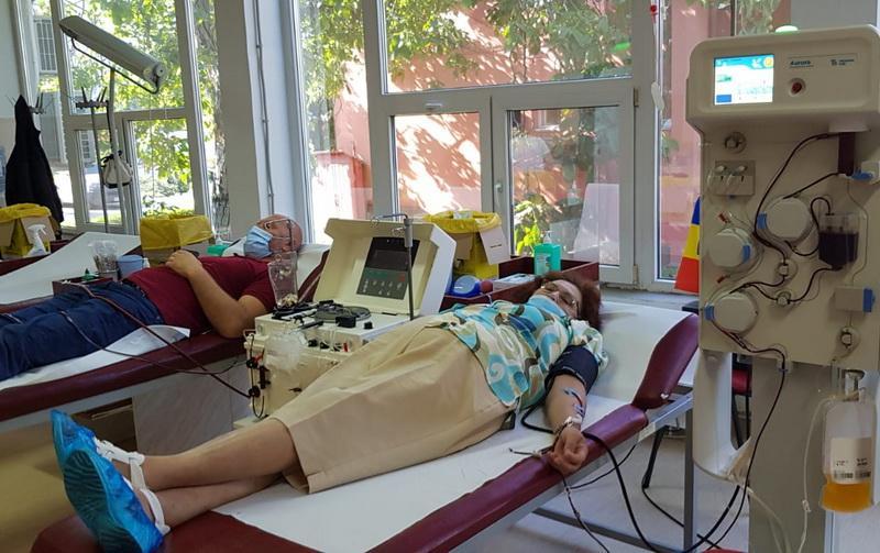 Un exemplu de urmat: a donat a patra oară plasmă necesară pacienților cu COVID-19