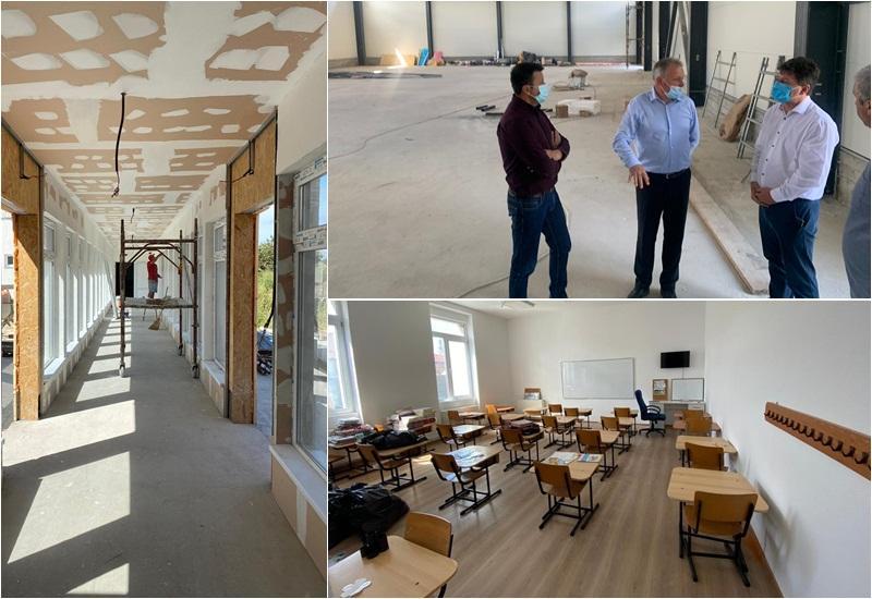 Sântana pregătește o școală înnoită, cu sală de sport, mobilier nou și masă caldă pentru elevii