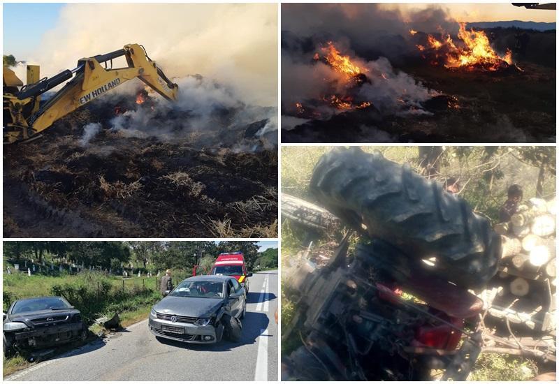 """Week-end de """"foc"""" pentru pompierii arădeni"""