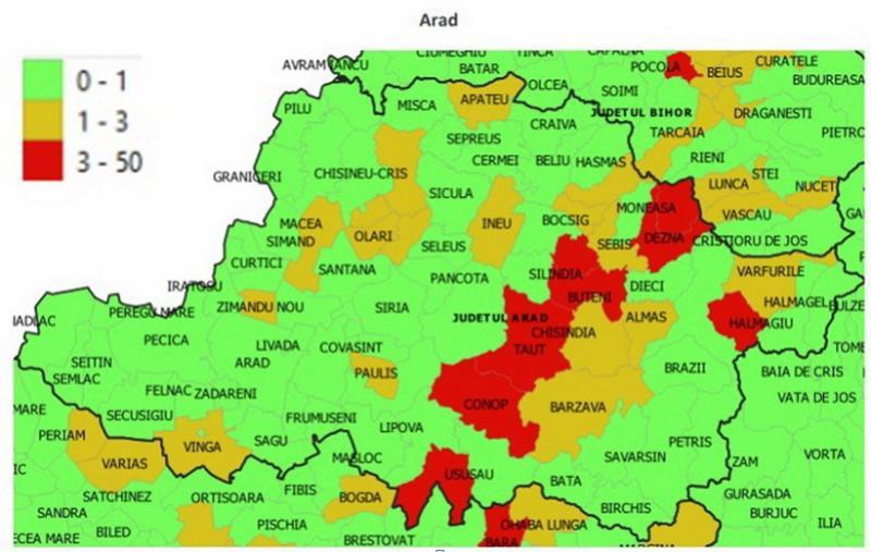 În judeţul Arad, anul şcolar începe diferit de la localitate la localitate în funcţie de numărul de cazuri Covid