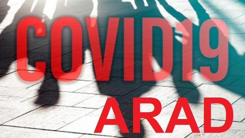Începem săptămâna cu 30 de noi cazuri în Arad de persoane pozitive la virusul SARS-CoV-2