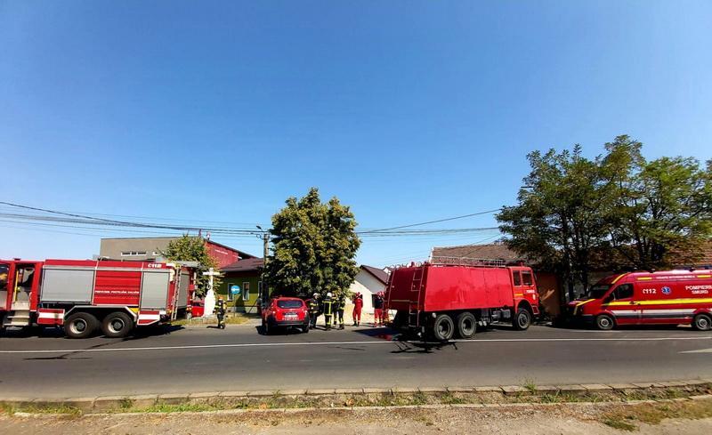 Glume proaste. Alertă falsă de incendiu generalizat pe strada Ana Ipătescu