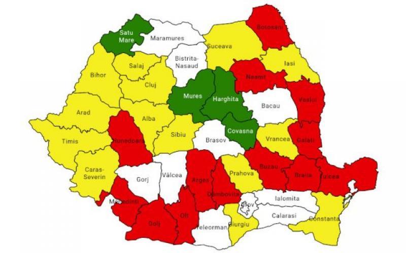 Harta politică a României: Cine sunt noii primari ai marilor oraşe şi noii preşedinţi ai Consiliilor Judeţene
