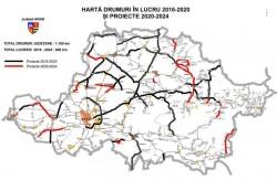 (A) Șantiere pe 48 de drumuri județene din Arad, pe 450 km!