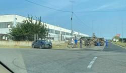 Două persoane rănite în urma unui accident rutier produs în zona industrială