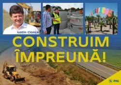 """Iustin Cionca: """"Încep lucrări la rețeaua de gaz, de apă și canalizare, în tot județul!""""(P)"""