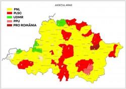 Rezultate Alegeri Locale: PNL câştigă în 55 de primării în judeţ