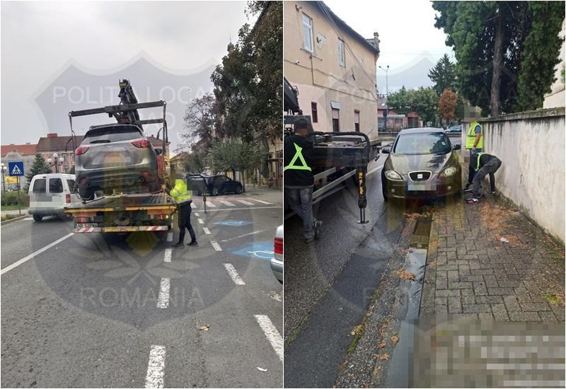 Poliţia Locală cu ochii şoferii care opresc în locuri nepermise