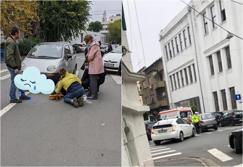 """O profesoară a Colegiul Național """"Moise Nicoară"""" din Arad a fost accidentată pe o trecere de pietoni"""
