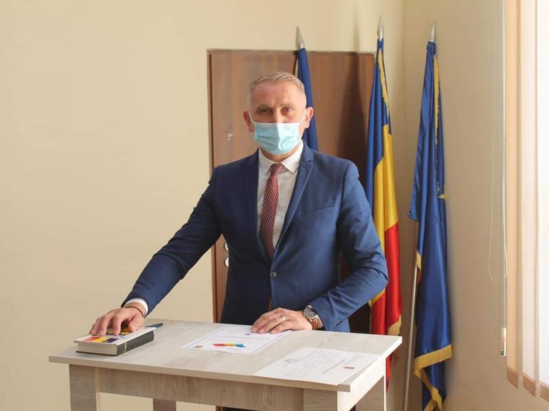 Noul primar al Comunei Vladimirescu, Mihai Mag, a depus jurământul