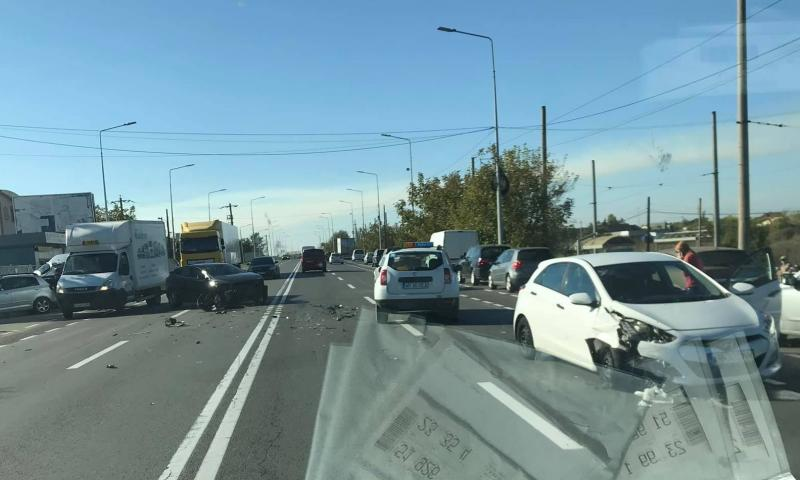 Accident violent în faţă la RAR
