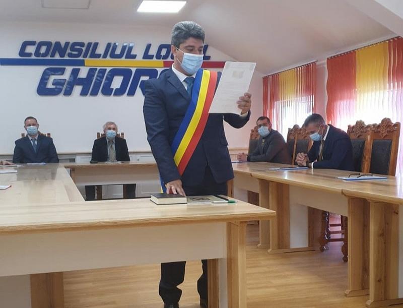 Corneliu Popi-Morodan, cel mai votat primar din județ,  pentru încă patru ani la cârma comunei Ghioroc