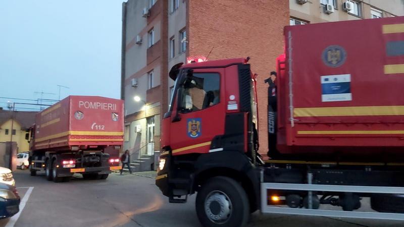 Misiune umanitară derulată în sprijinul Cehiei
