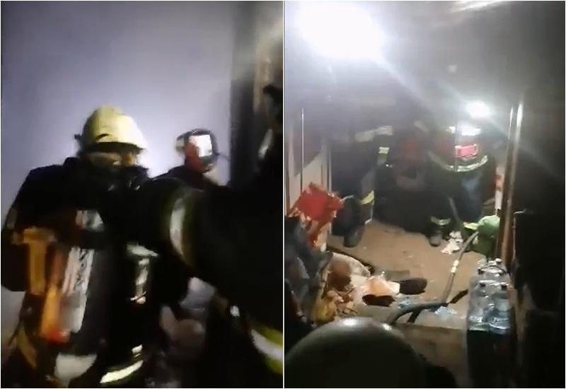 Doi bătrâni găsiţi decedaţi de pompieri după ce au stins un incendiu în localitatea Andrei Şaguna